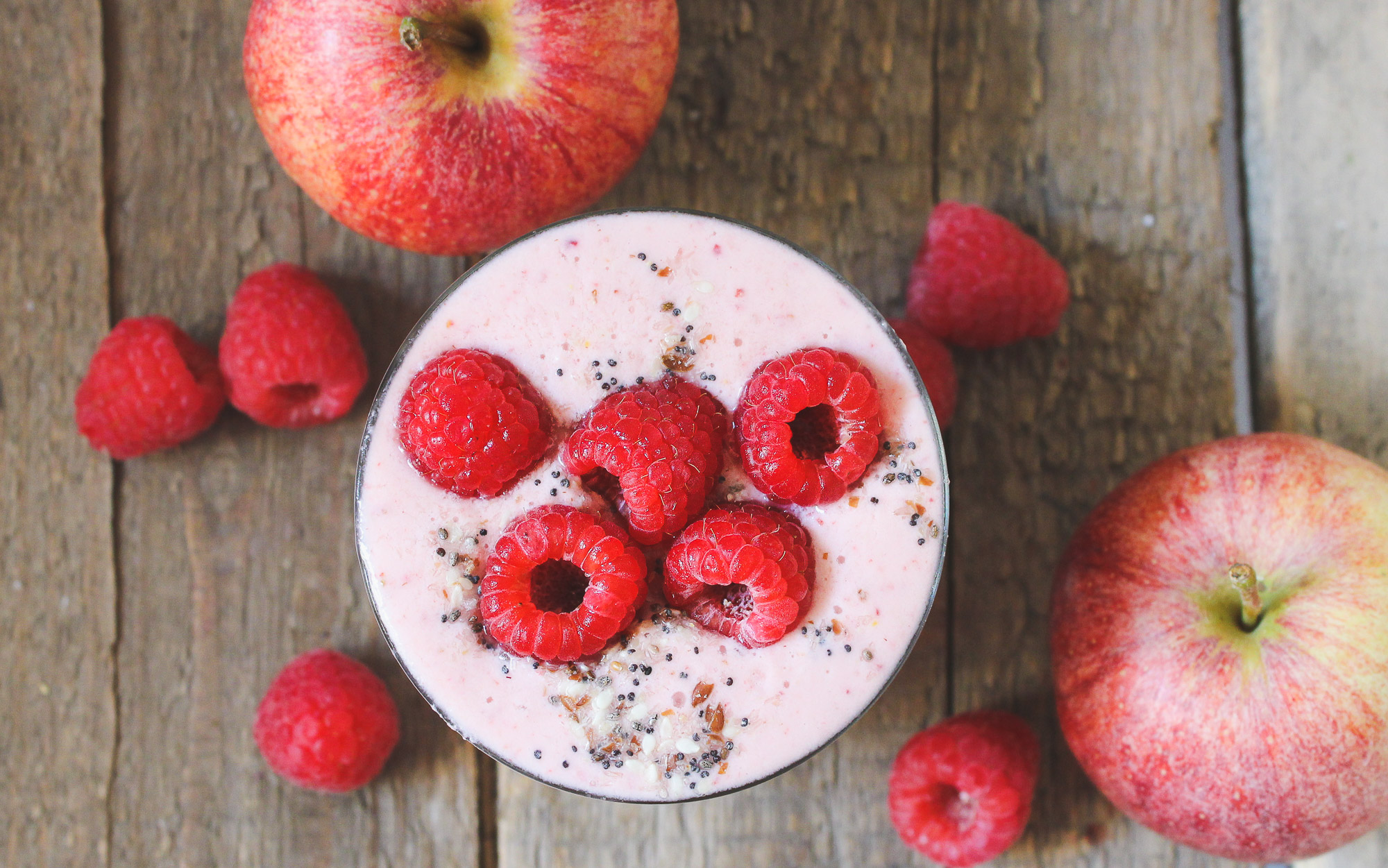 Pink Yogurt Smoothie - BesmartEatsmart